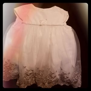 Camilla white gown for baby